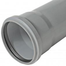 Труба PP-H с раструбом серая Эконом Дн 50х1,5х0,15м САЗ
