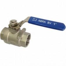 """Кран шаровой нержавеющий AISI 316 муфтовый ABRA BV-A1400A С/П G 1/2"""" Ру-40 Ду-15"""