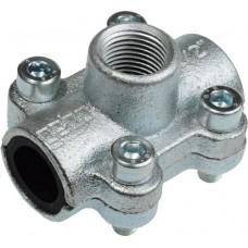 Обойма чугунная GEBO Clamps ANB 1/2 (21,3 х 1/2) с резьбовым отводом