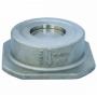 Клапан обратный нерж осевой NVD 812 Ду 65 Ру40 Тмакс=350 оС межфланцевый диск нерж Danfoss 065B7536