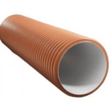 Труба гофрированная двустенная без раструба SN8 368/315 ПОЛИТЭК для колодца