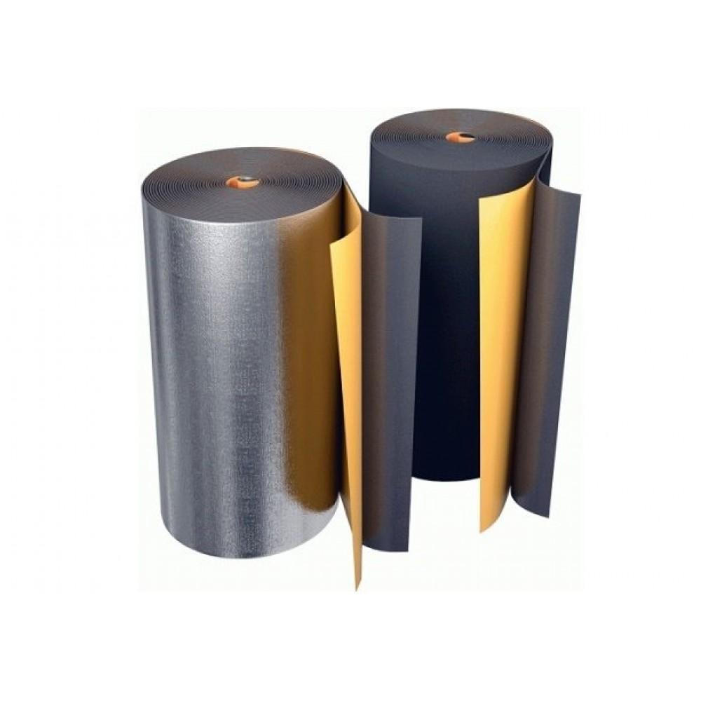 Рулон вспененный полиэтилен BLACK STAR DUCT 10/1,0-10 Тмакс=95°C самоклеящийся чёрный Energoflex EFXR10110BSDUC