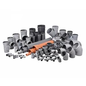 Трубы ПВХ, НПВХ и ПП для канализации
