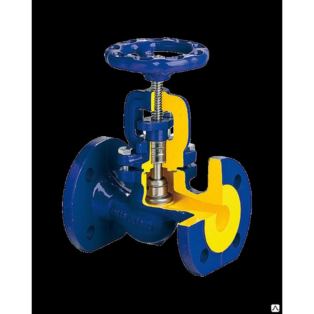 Клапан запорный чугунный 215A Ду 20 Ру16 Тмакс=300 оС фланцевый со штурвалом сальниковый Zetkama 215A020C00