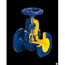 Клапан запорный стальной 215F Ду 15 Ру40 Тмакс=400 оС фланцевый сальниковый Zetkama 215F015E01