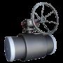 Кран шаровой стальной 11с67п Ду 300 Ру16 фланцевый с редуктором Titan 2ЦФ.00.3.016.300