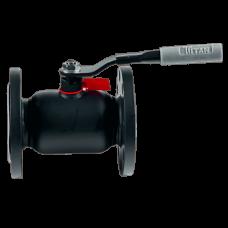 Кран шаровой стальной 11с67п Ду 15 Ру40 фланцевый полнопроходной Titan ЦФ.00.1.040.015