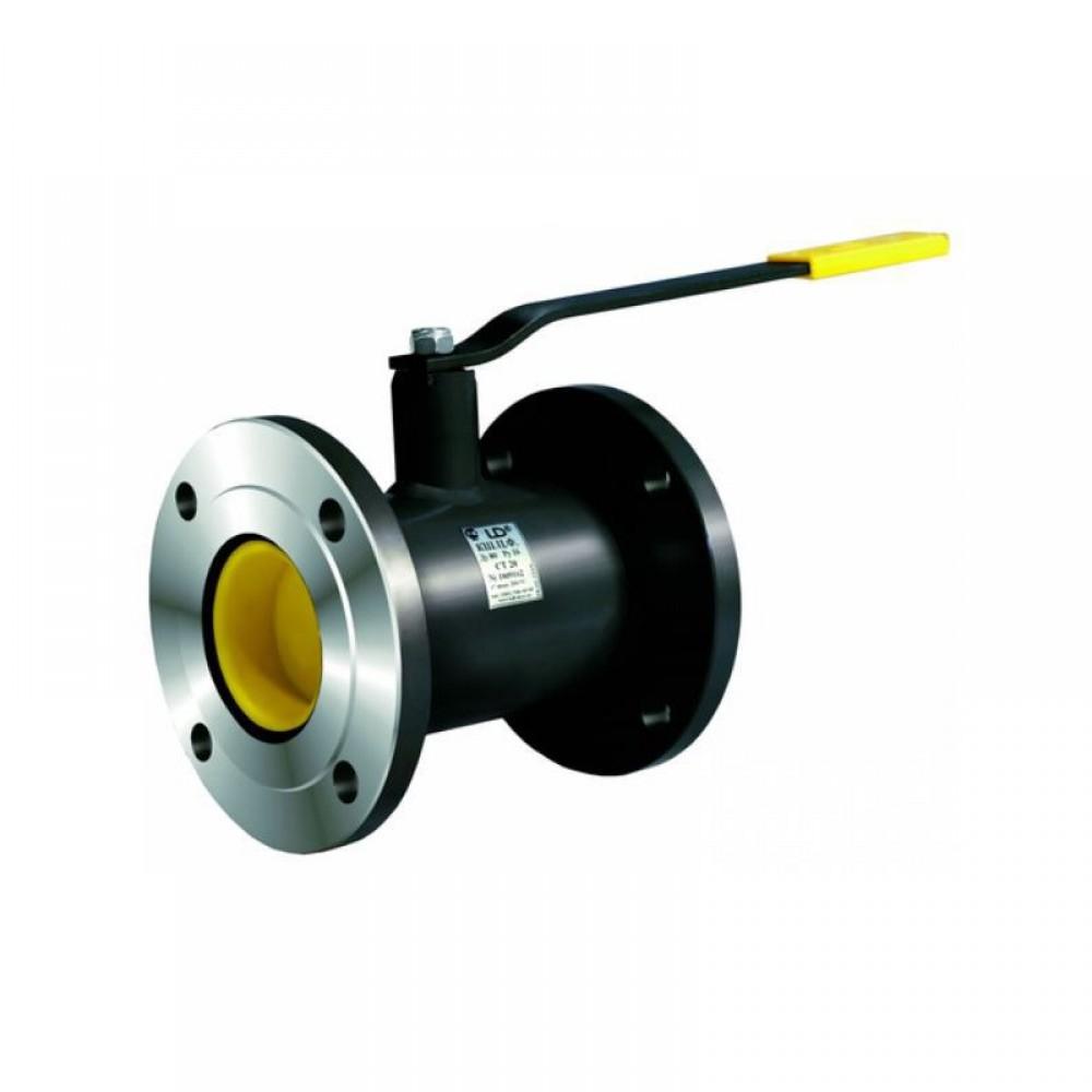 Кран шаровой стальной КШ.Ц.Ф Ду 15 Ру40 фланцевый полнопроходной LD КШ.Ц.Ф.015.040.П/П.02