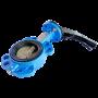 Затвор дисковый поворотный чугунный Ду 250 Ру10/16 межфланцевый с рукояткой диск нерж EURO Benarmo