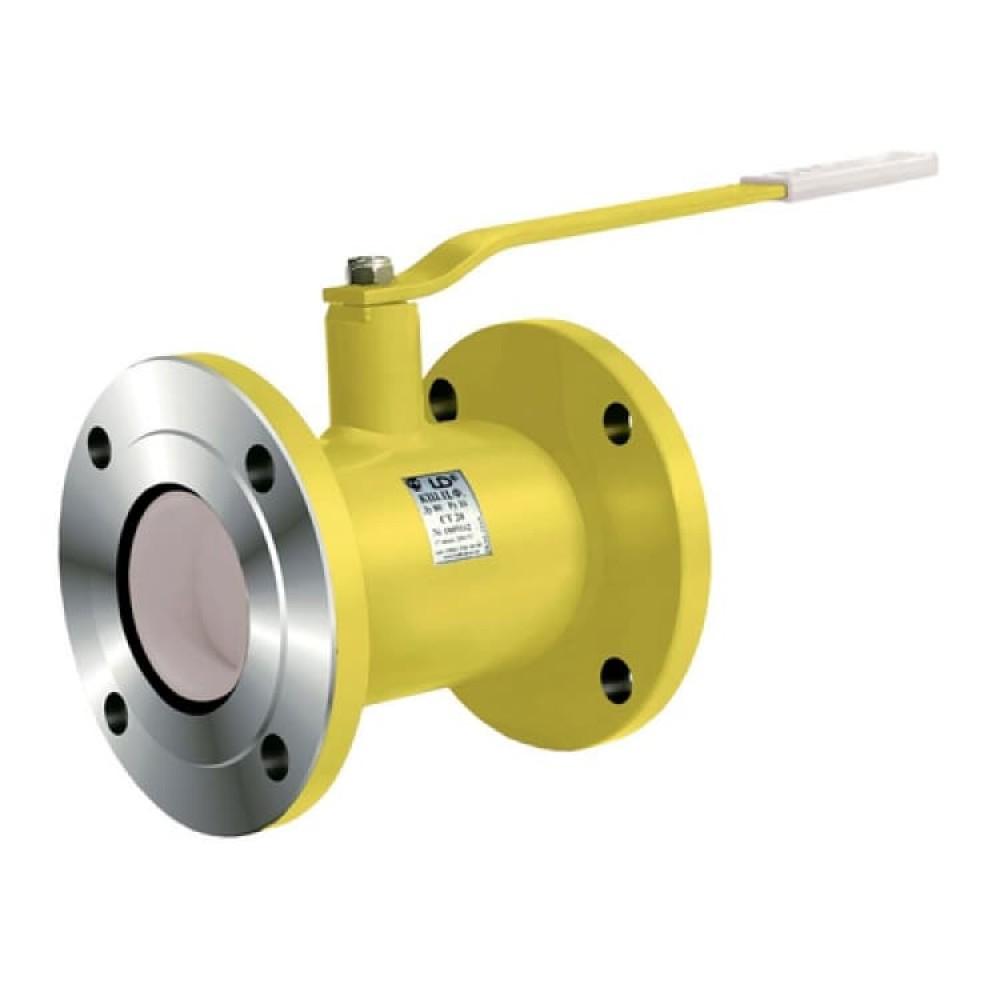 Кран шаровой стальной газ КШ.Ц.Ф Ду 20 Ру40 фланцевый LD КШ.Ц.Ф.GAS.020.040.Н/П.02