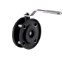 Кран шаровой стальной Стриж Ду 100 Ру16 межфланцевый оцинкован LD 100.016.02.Zn