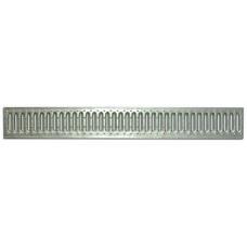 Решетка водоприемная Standart 100 стальная штампованная оцинкованная