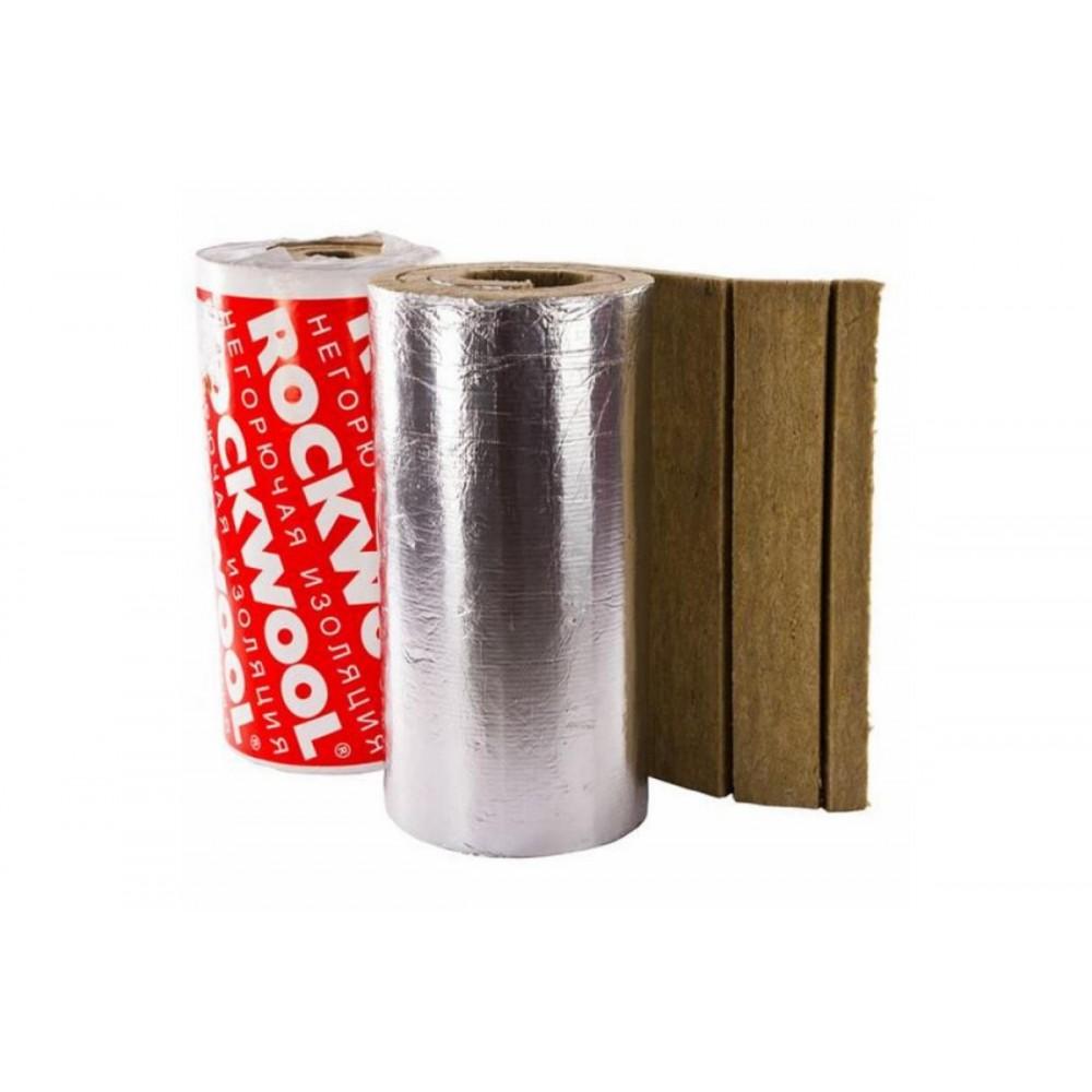 Рулон минеральная вата LAMELLA MAT L кашированный фольгой 40х1000-6 ROCKWOOL 60272