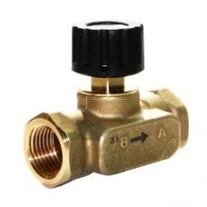 Клапан балансировочный ручной латунь USV-S Ду 15 Ру16 ВР Kvs=1.6м3/ч б/ниппелей Danfoss 003Z2231