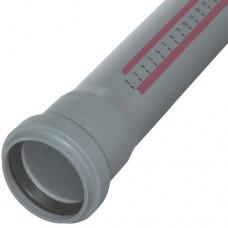 Труба PP-H с раструбом серая HT HTEM Дн 32х1,8х0,15м Ostendorf 110000