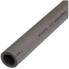 Трубка вспененный полиэтилен SUPER 15/6 L=2м Тмакс=95°C серый Energoflex EFXT015062SU
