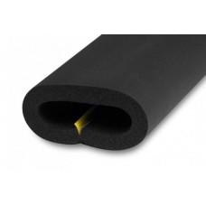 Трубка вспененный каучук ST/SK 22/13 L=2м Тмакс=85°C черный самоклеящаяся K-flex R13022213603