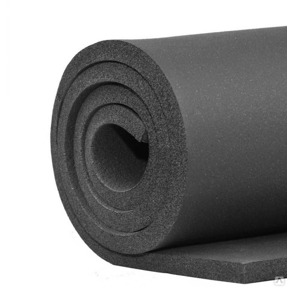 Рулон вспененный каучук ENERGOCELL HT 10/1,0-20 Тмакс=150°C черный Energoflex ECLR10120HT
