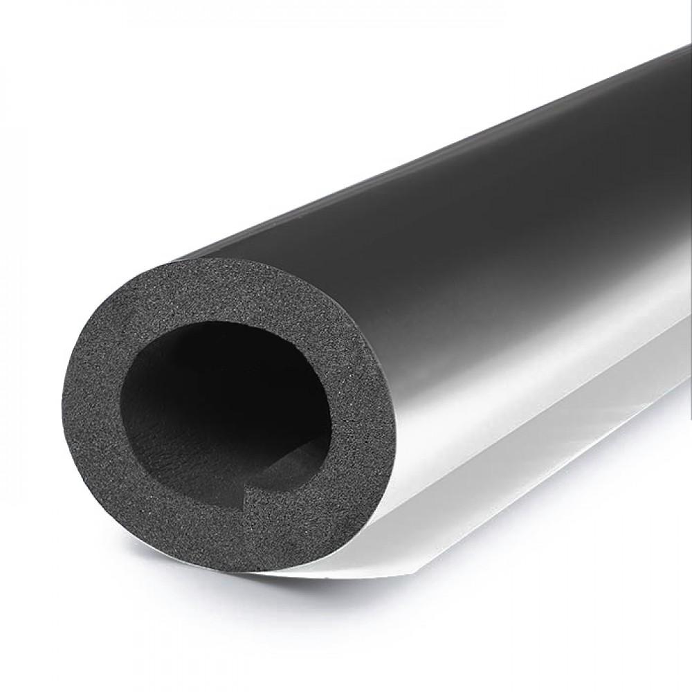 Трубка вспененный каучук SOLAR HT 48/19 L=1м Тмакс=150°C черный с покрытием AL CLAD K-flex 19048214324CL