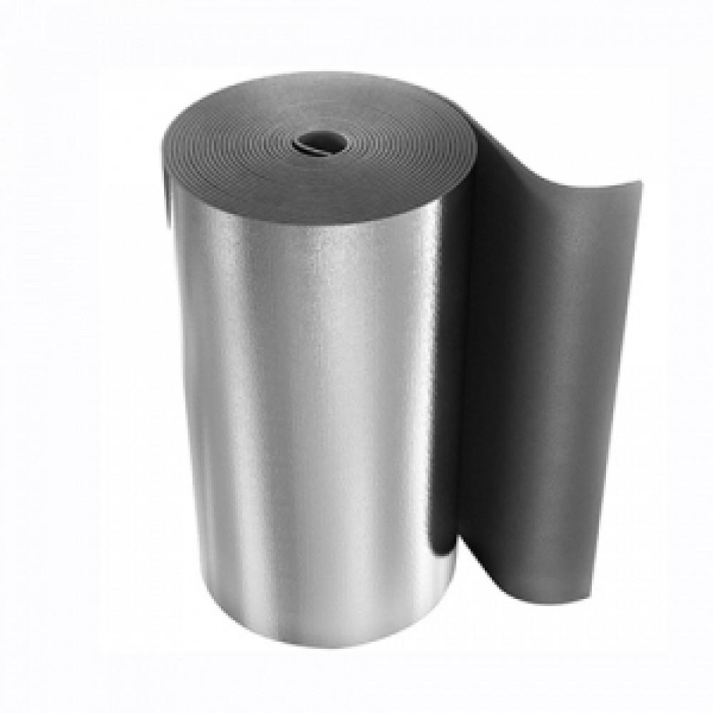 Рулон вспененный полиэтилен SUPER AL 3/1,0-30 Тмакс=95°C с покрытием алюминиевая фольга серый Energoflex EFXR03130SUAL