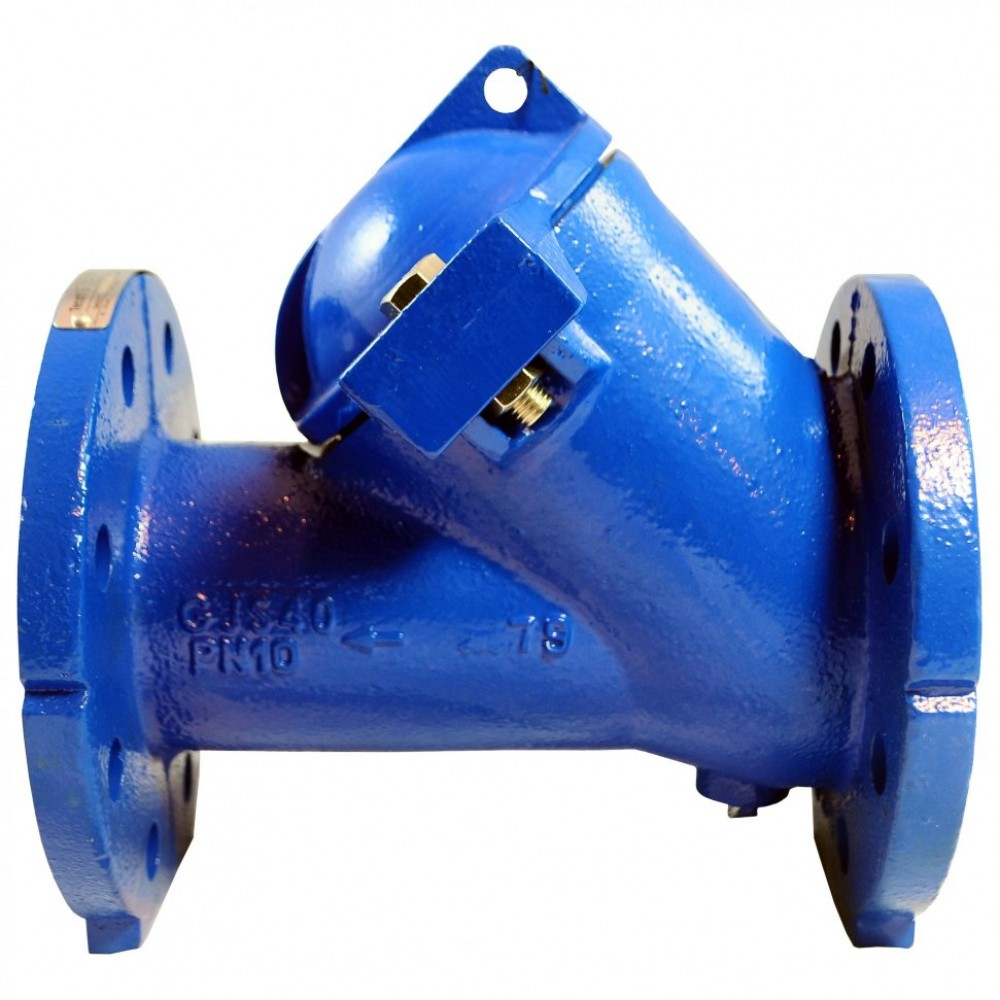 Клапан обратный чугун шаровой CBL4240 Ду 125 Ру10 Тмакс=80 оС фланцевый шар нитрил с самоочищающимся шаром Tecofi CBL4240-0125