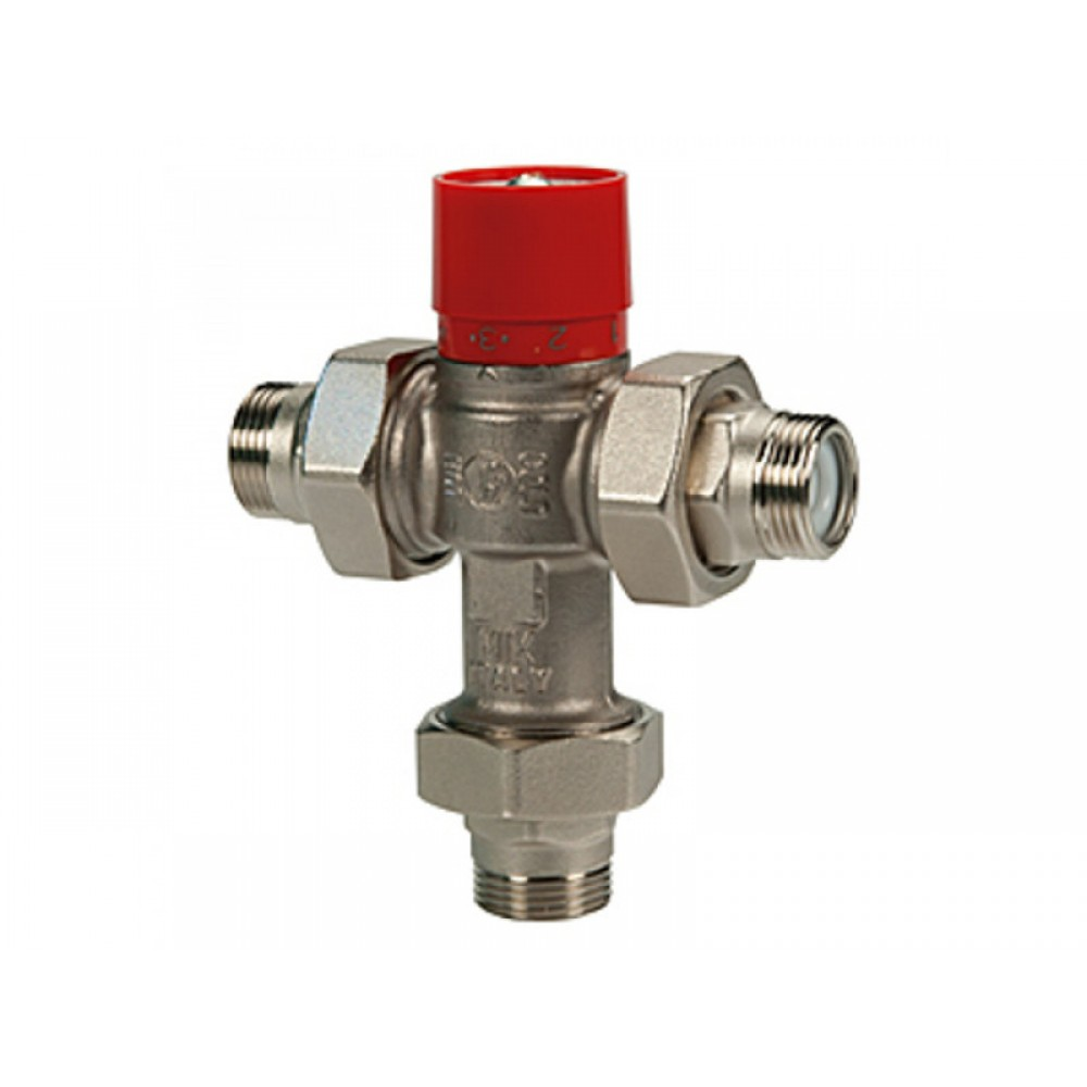 """Клапан смесительный термостатический седельный латунь R156-1 Ду 25 Ру16 G1"""" НР Kvs=2 60С Giacomini R156X025"""