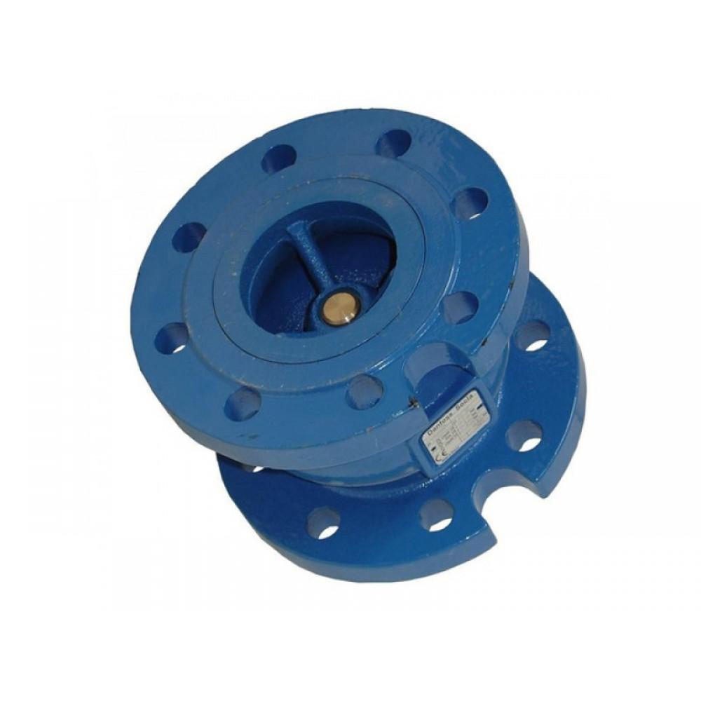 Клапан обратный чугун осевой NVD 402 Ду 80 Ру16 Тмакс=100 оС фланцевый диск чугун с аксиальным затвором Danfoss 065B7473