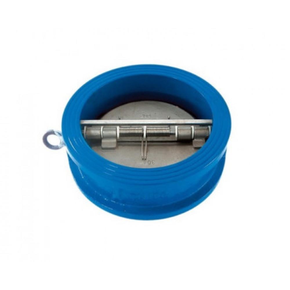 Клапан обратный чугун 2/створ CB3449 Ду 80 Ру16 Тмакс=110 оС межфланцевый створки нерж Tecofi CB3449-EPA0080