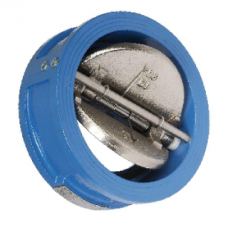 Клапан обратный чугун 2/створ CB3448N Ду 40 Ру16 Тмакс=110 оС межфланцевый створки чугун Tecofi CB3448N-EP0040