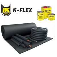 Теплоизоляционные материалы K-flex из каучука