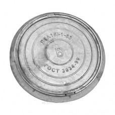 Люк чугун (В) водопроводный Л (легкий) круглый (А15) m=58кг h=60мм ГОСТ 3634-99 ООО СанТехПром