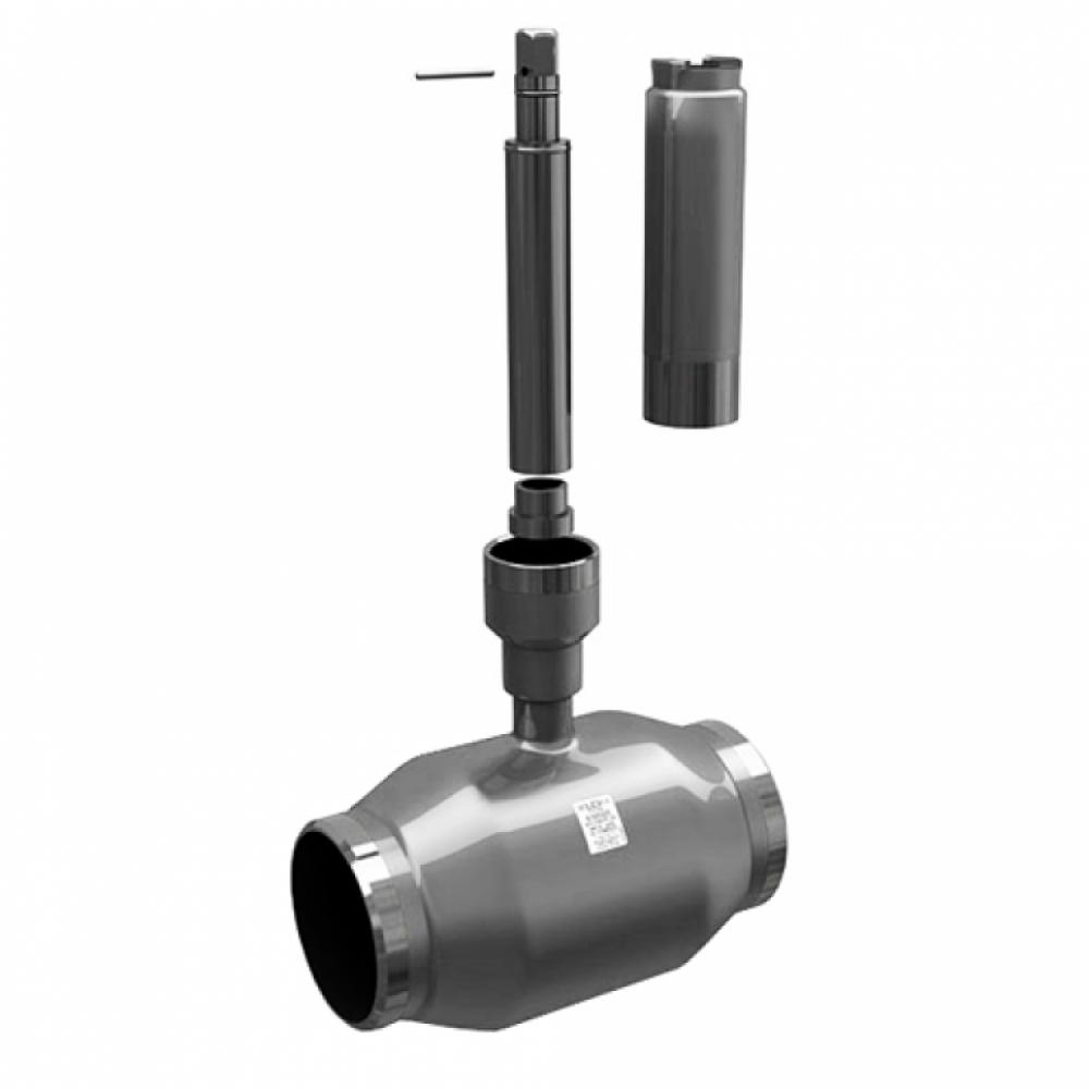 Кран шаровой стальной КШ.Ц.П Ду 50 Ру16 под приварку полнопроходной с удл. штоком Н=1500мм LD КШ.Ц.П.050.040.П/П.02.Н=1500