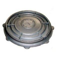 Люк чугун (В) водопроводный ЛМ (легкий малогабаритный) круглый (А15) m=55кг h=60мм ГОСТ 3634-99 Кронтиф