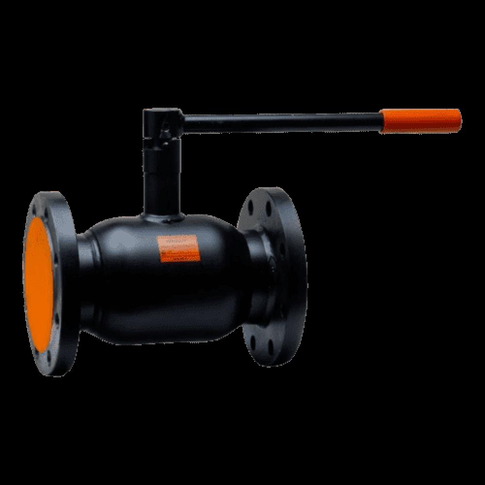 Кран шаровой стальной Бивал Ду 20 Ру25 фланцевый термостойкая эмаль ADL