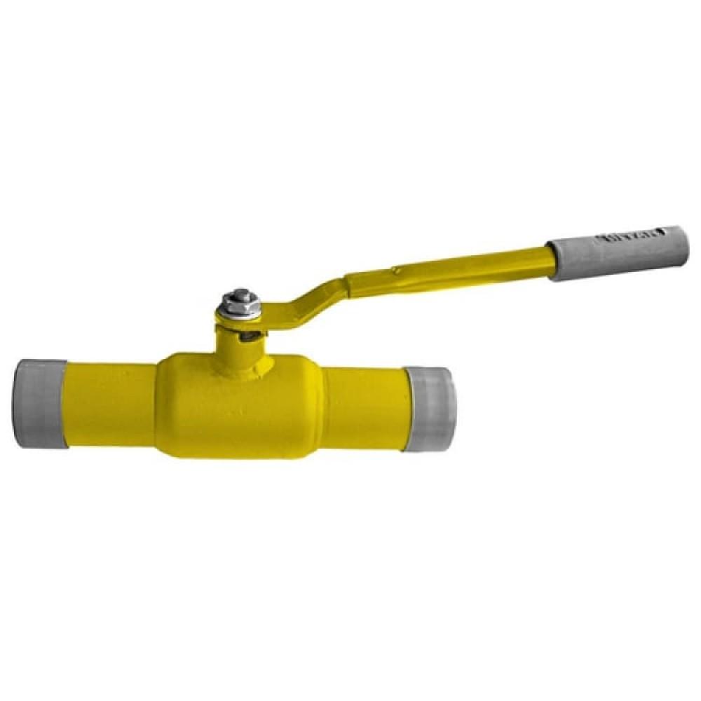 Кран шаровой стальной газ 11с67п Ду 125 Ру25 под приварку Titan 2ЦП.00.1.025.125