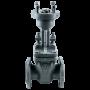 Задвижка клиновая стальная 30с941нж Ду 300 Ру16 фланцевая под электропривод МЗТА