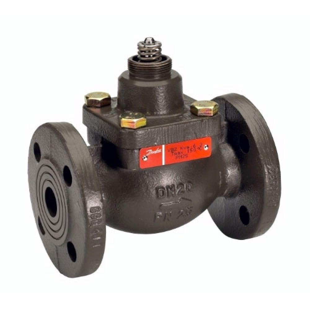 Клапан регулирующий чугун VFM2 Ду 15 Ру25 фл Kvs=2.5м3/ч Danfoss 065B3055
