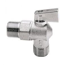 Кран шаровой угловой ITAP 391 - 1/2' (НР/НР, PN16, ручка-флажок, для стиральных машин) 26136
