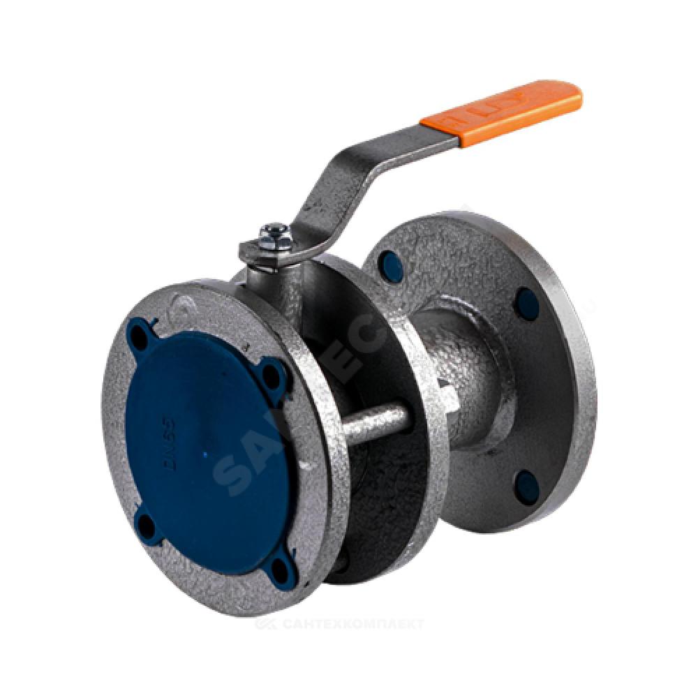 Кран шаровой стальной 11с67п Ду 65 Ру16 фланцевый LD КШ.Р.Ф.065.016.Н/П.02