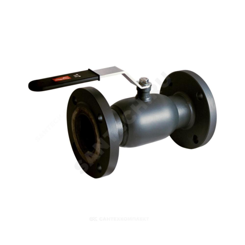 Кран шаровой стальной JIP Standard FF Ду 150 Ру16 фланцевый Danfoss 065N9630