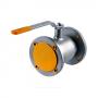 Кран шаровой стальной КШ.Ц.Ф Ду 80 Ру16 фланцевый равнопроходной L=210мм LD КШ.Ц.Ф.080.016.П/П.02