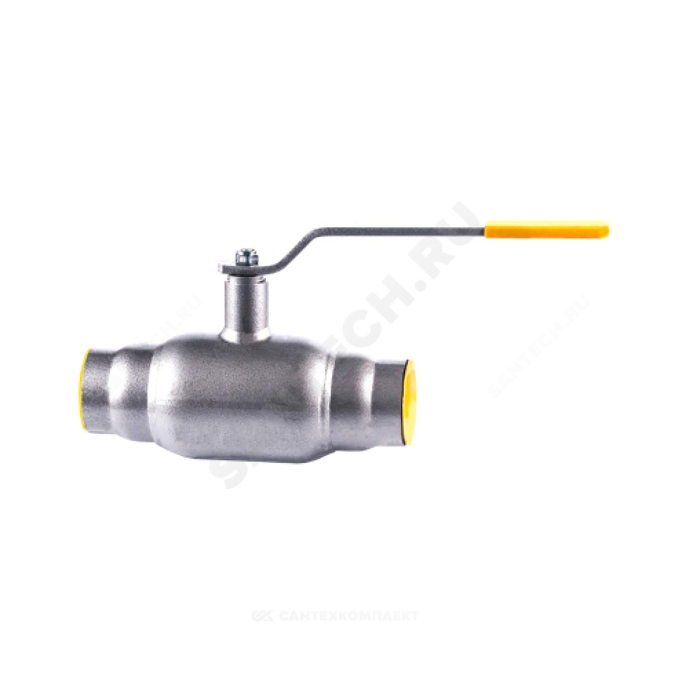 Кран шаровой стальной КШ.Ц.П Ду 80 Ру25 под приварку полнопроходной LD КШ.Ц.П.080.025.П/П.02