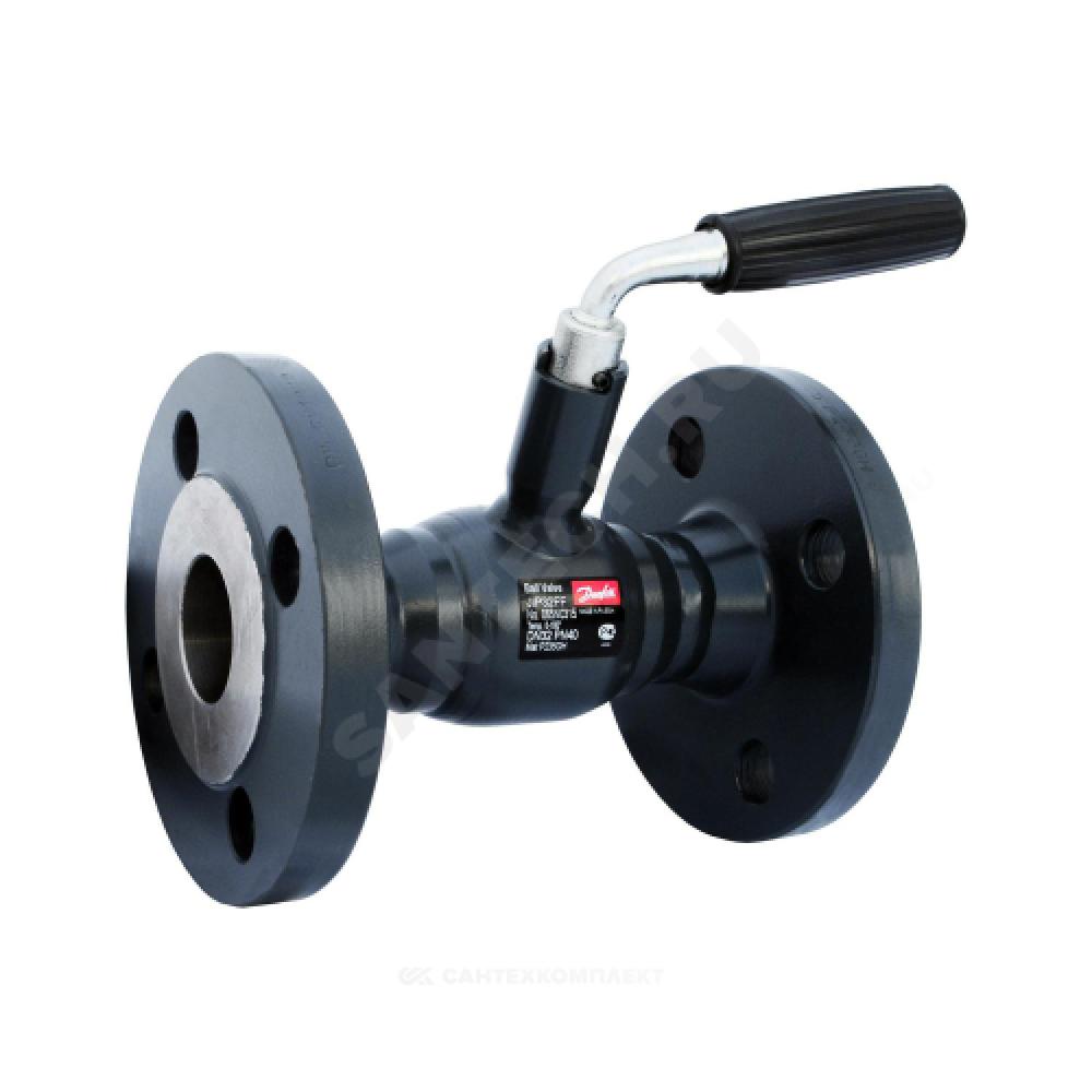 Кран шаровой стальной JIP-FF Ду 25 Ру40 фланцевый Danfoss 065N0310G