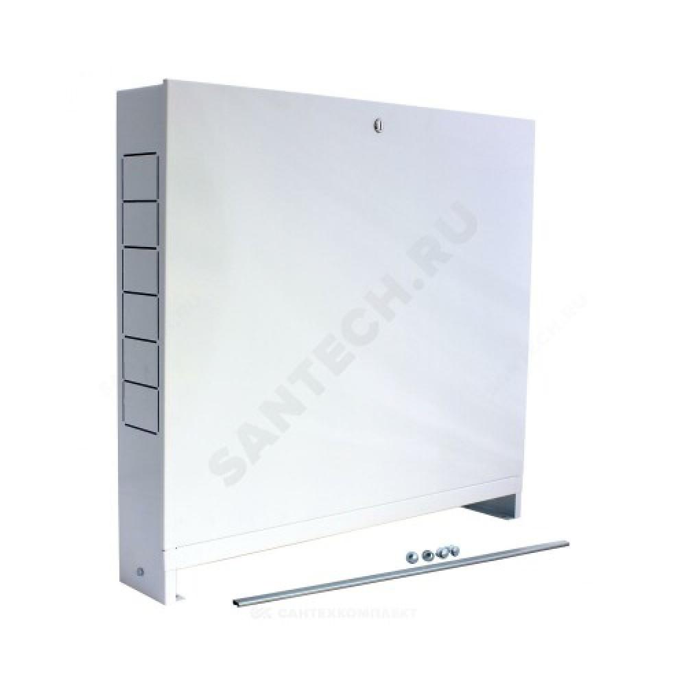 Шкаф коллекторный наружный сталь ШРН-3 697х118х652-715мм Wester