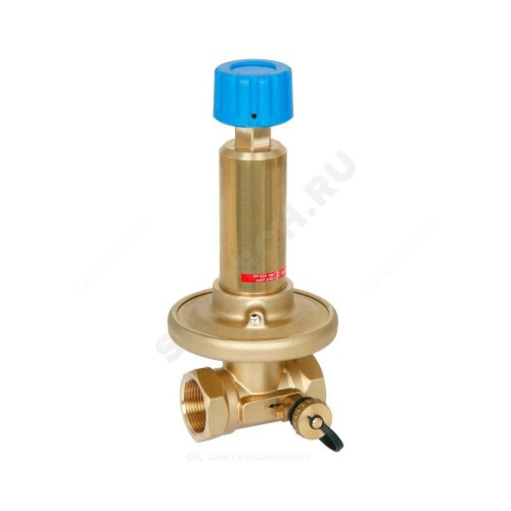 Клапан балансировочный автомат латунь APT Ду 15 Ру16 ВР Kvs=1.6м3/ч б/ниппелей Danfoss 003Z5701