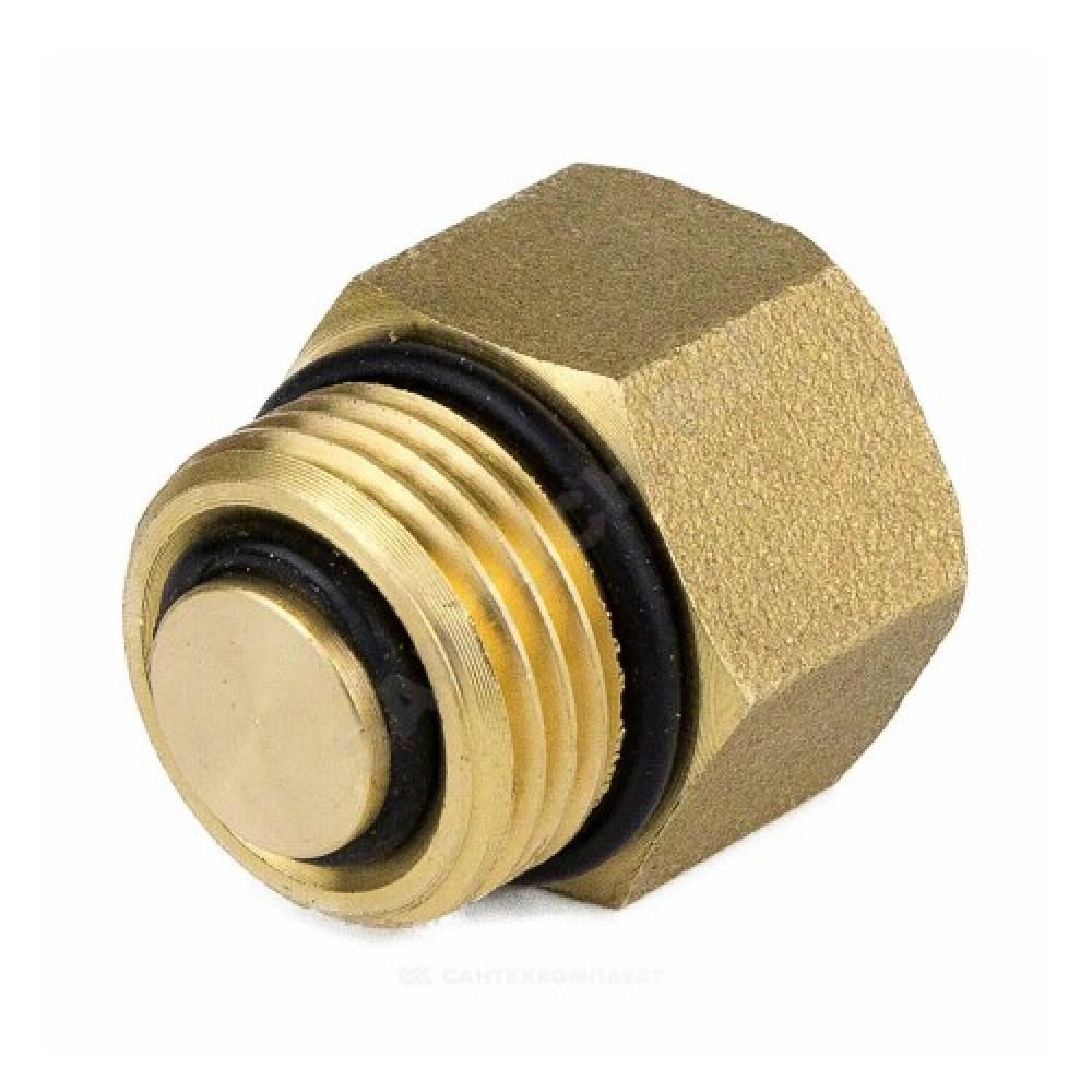 Клапан отсечной латунь 5002 Ду 15 Ру10 ВР/НР д/возд Aquasfera 5002-01