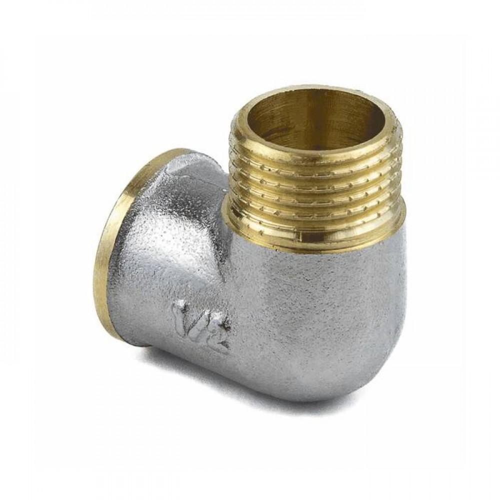 Угольник лат Ду15 м/р никель Aquasfera 9002-01