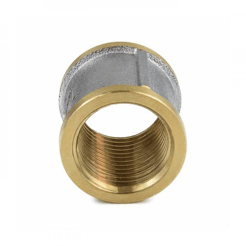 Муфта лат Ду50 ВР никель Aquasfera 9018-06