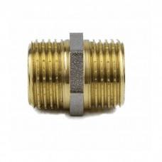 Ниппель лат Ду15 НР никель Aquasfera 9022-01