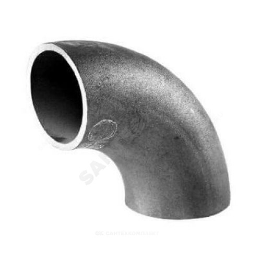 Отвод стальной бесшовный крутоизогнутый 90гр Дн 325х10,0 (Ду 300) под приварку ГОСТ 17375-2001 РБ
